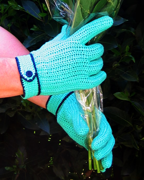 Crocheting With Fingers : Crochet Gloves With Fingers Pattern pattern of the month: trim crochet ...