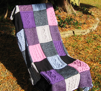 Knitting Patterns For Baby Comfort Blankets : Pattern of the Month: Winter warmers Archives