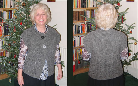 Knitting Patterns For Waistcoats Free : Pattern of the Month: January 2009 Archives